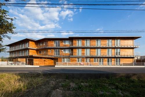 美原荘グループホーム「すごうの郷」の施設外観
