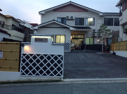 トラストコート堺深阪の施設外観