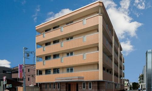 シャローム晴れる家3号館の施設外観