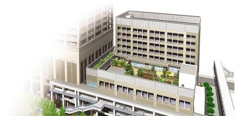 グッドタイムリビング大阪ベイの施設外観